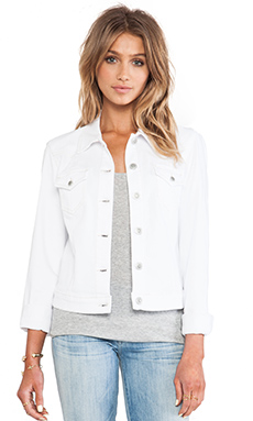 Level 99 Western Jacket in Optic White