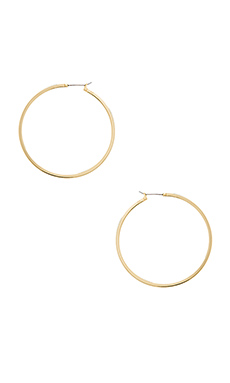 LARGE PERFECT HOOP EARRING
