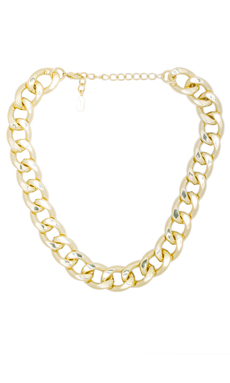 Lisa Freede Small Riley Necklace in Gold