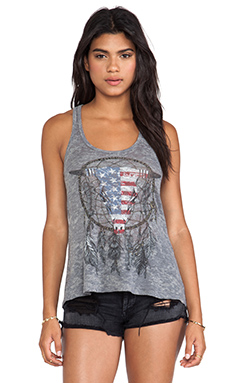 NANCY FLAG BULL RACERBACK TANK