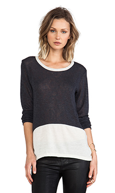 LnA Gulf Sweater in Charcoal