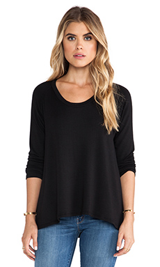 LNA Backtail Pullover in Black