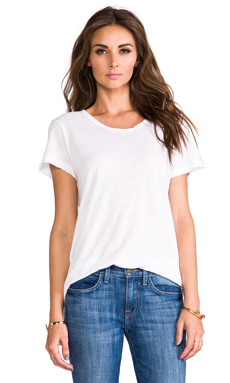 LNA Vintage Tee in White