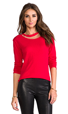 LNA Bender Long Sleeve in Red