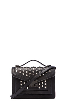Loeffler Randall Mini Rider in Black & Silver