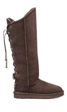 Australia Luxe Collective Dita Extra Tall with Sheep Shearling in Beva