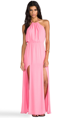 Lovers + Friends Smokin' Hot Dress in Pink