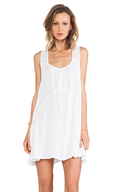 Lovers + Friends Over The Moon Dress in White