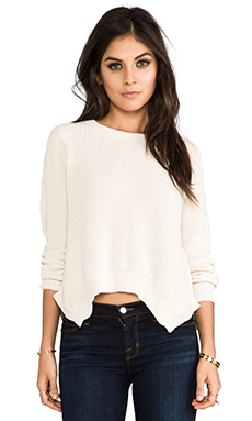 Lovers + Friends for REVOLVE Taylor Pullover in Ivory