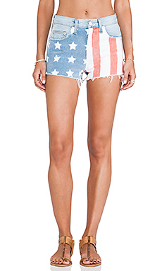 AMERICANA CUT OFF SHORTS