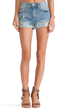 Lovers + Friends Jack High Waisted Short in Fairfax