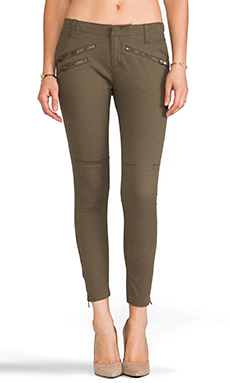 Lovers + Friends for REVOLVE Jenny Trousers in Army Green