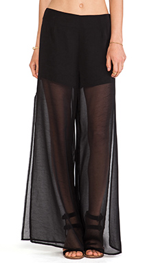 Lovers + Friends Scorpio Pants en Noir
