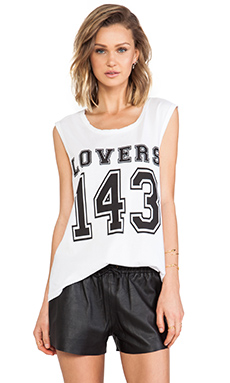 Lovers + Friends Lovers 143 Tank in White
