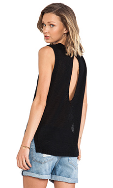 Lovers + Friends Major Love Tunic in Black