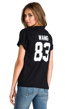 LPD NYC Wang Tee in Black