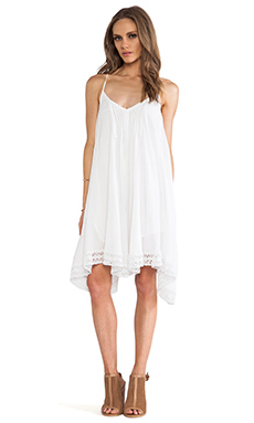 Love Sam Chara Sleeveless Dress in White