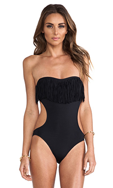 L*SPACE Free Love One Piece in Black