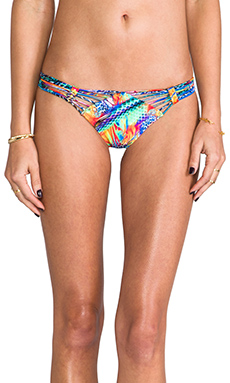 Luli Fama Agua de Fuego Slider Bottom in Multicolor