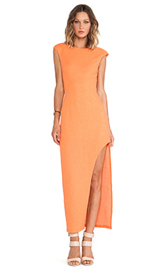 Lumier As the Sun Sets Maxi Dress in Orange
