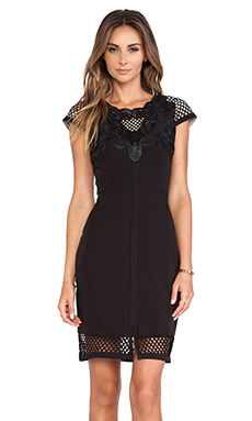 Lumier The Eleventh Hour Mini Dress in Black