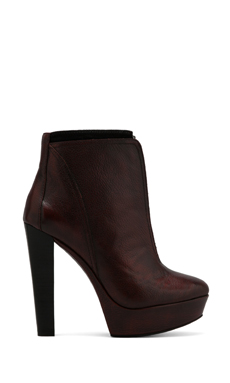 Luxury Rebel Randy Bootie in Hot Brick