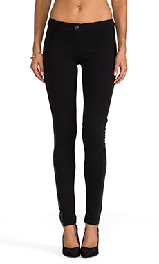 Mackage Desirae Rayon Double Knit Pant in Black