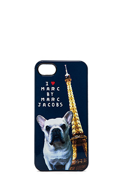 Marc by Marc Jacobs Jet Set Pets Pickles iPhone 5 Case in Gettysburg Blue Multi