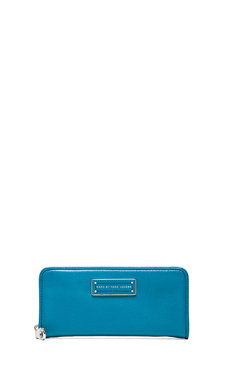 Marc by Marc Jacobs Too Hot To Handle Slim Zip Around Wallet in Turkish Tile