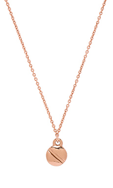 Marc by Marc Jacobs Screw It Screw Pendant in Rose Gold