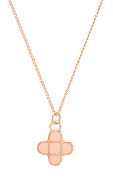 Marc by Marc Jacobs Modern Marc Logo Modern Intersection Pendant in Ginger Rose & Rose Gold