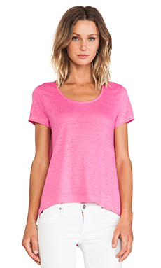 Marc by Marc Jacobs Carmey Jersey Tee in Punch Pink