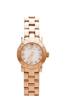 Marc by Marc Jacobs Amy Dinky Watch in Rosegold