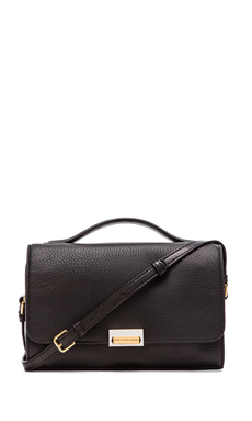 Marc by Marc Jacobs In the Grain Nahee Satchel in Black