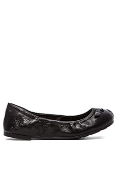Marc by Marc Jacobs Core Nappa Lamb Mouse Soft Ballerina Flat in Black