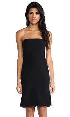Mason by Michelle Mason Strapless Dress in Black