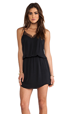 Mason by Michelle Mason Lace Cami Dress in Black