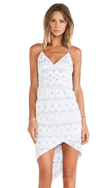 Maurie & Eve Morning Light Dress in Stamped Lace