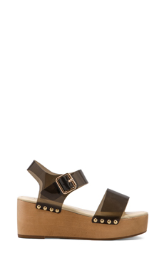 MADISON HARDING Dorothy Sandal in Black
