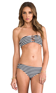 MONACO CUT OUT KNOT BANDEAU TOP