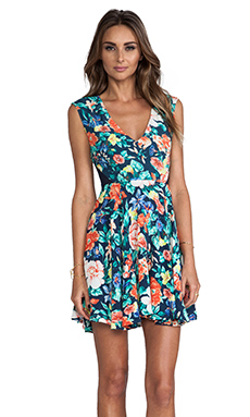 MINKPINK Acid Bloom Dress in Multi