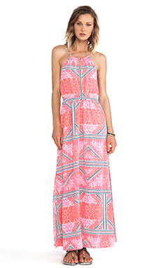 EASTERN AZTEC MAXI DRESS