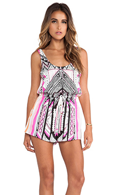MAYAN TEMPLE PLAYSUIT