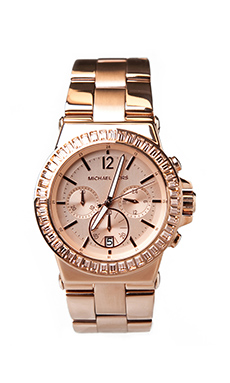 Michael Kors Dylan Watch in Rose Gold