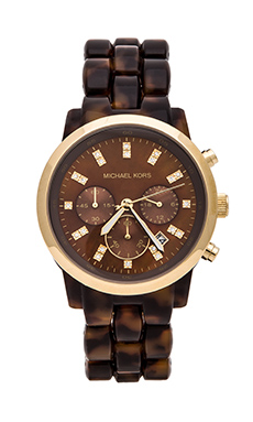 Michael Kors Showstopper Watch in Tortoise