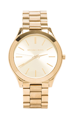 Michael Kors Slim Classic Watch in Gold