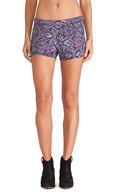 Michael Lauren Jude Shorts in Purple Haze
