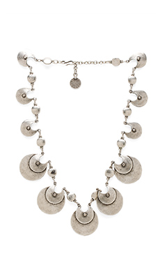 Natalie B Jewelry Knights Blade Necklace in Silver