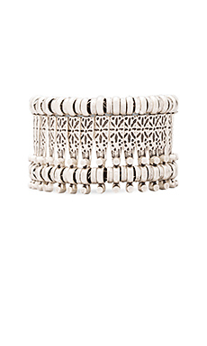 Natalie B Basilica Bracelet in Nickel