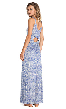 Nation LTD New Haven Dress in Blue Geo